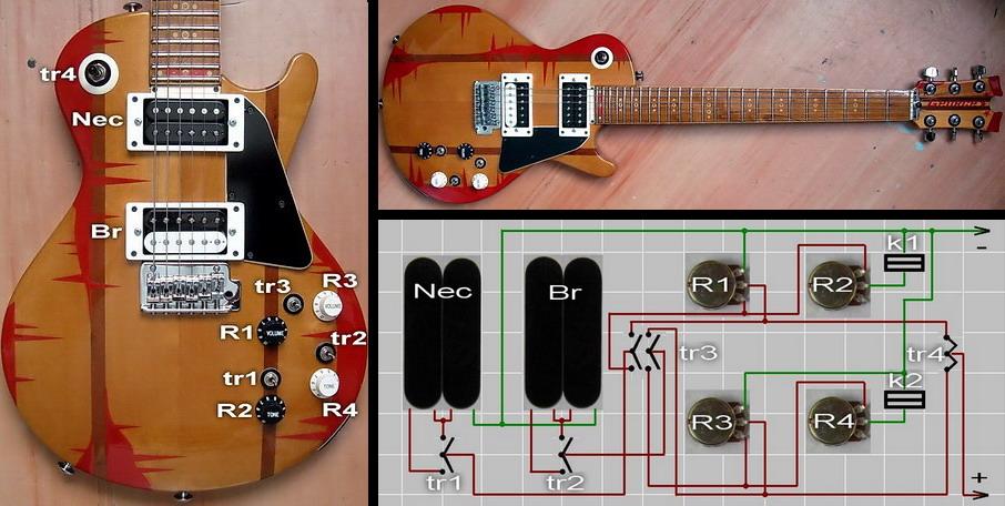 Ремонт эл гитары своими руками 6